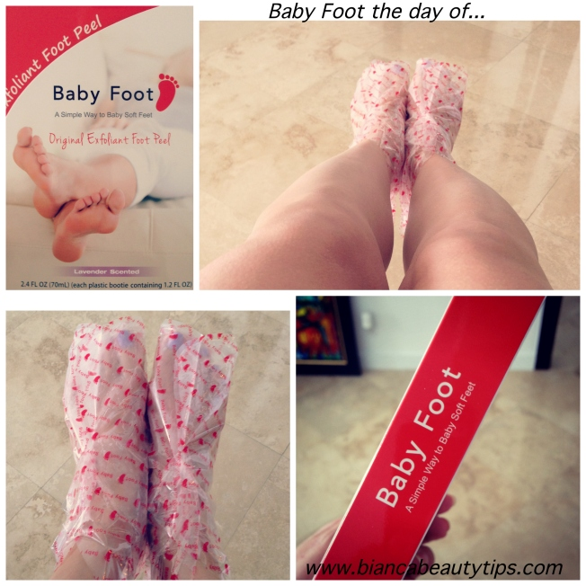 baby foot collagetext